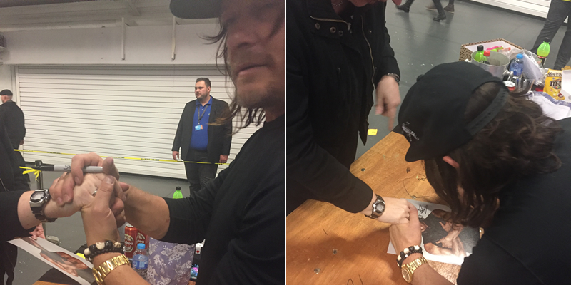 Norman Reedus at Walker Stalking Con - London 2017